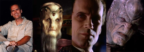 Wayne Alexander as Lorien, Sebastian and a Drazi captive